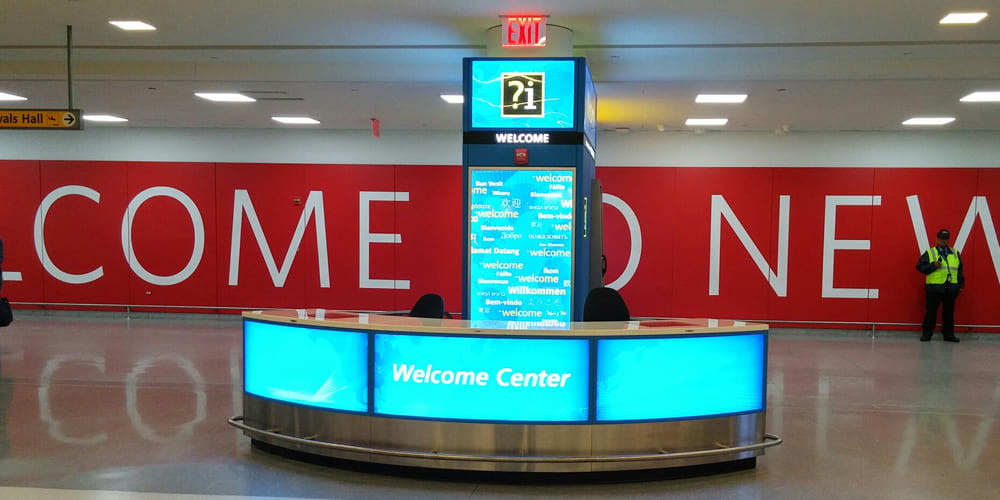 Welcome Centers JFK T4D2