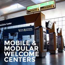 Mobile Modular Welcome Centers