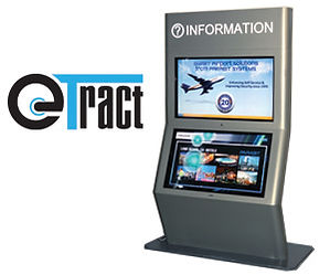Etract software digital signage Kiosk