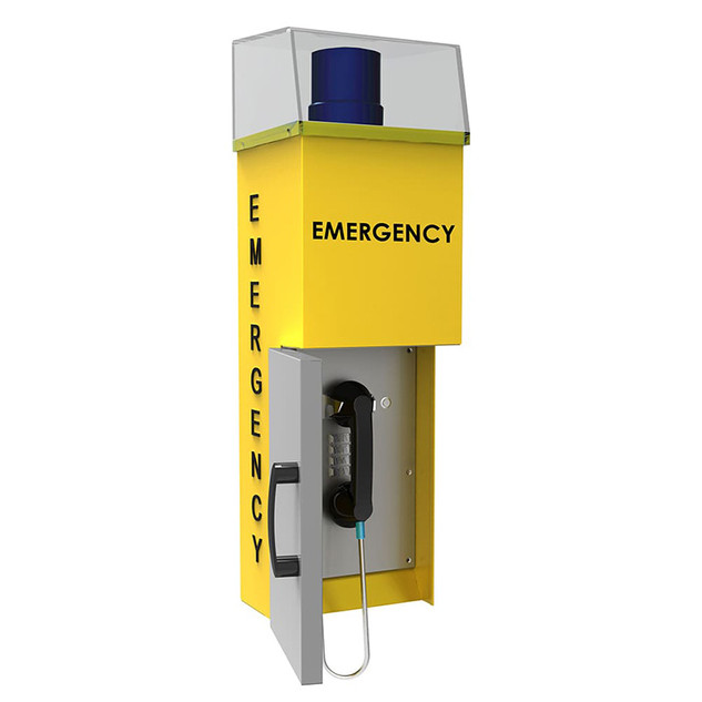 Emergency Phone Stanchion