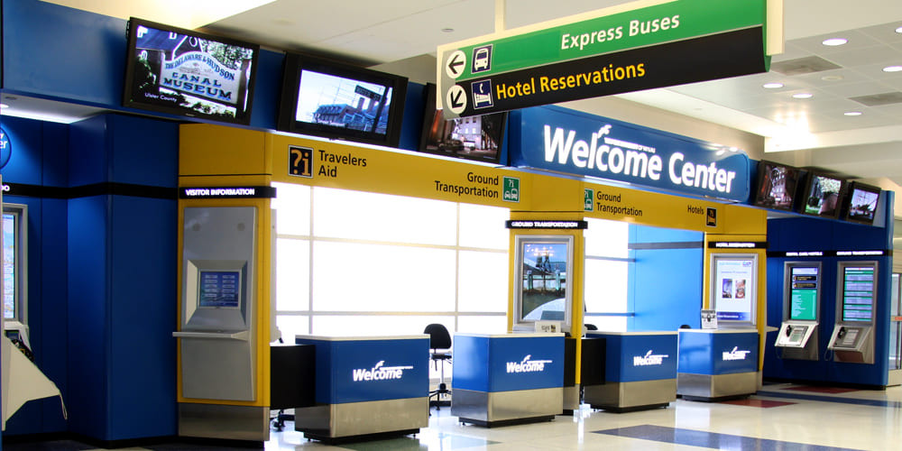 Welcome Centers JFK T7