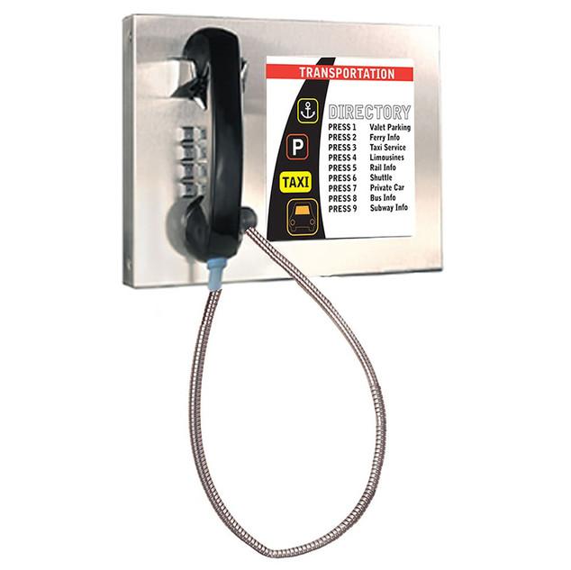 Telephone with mini display