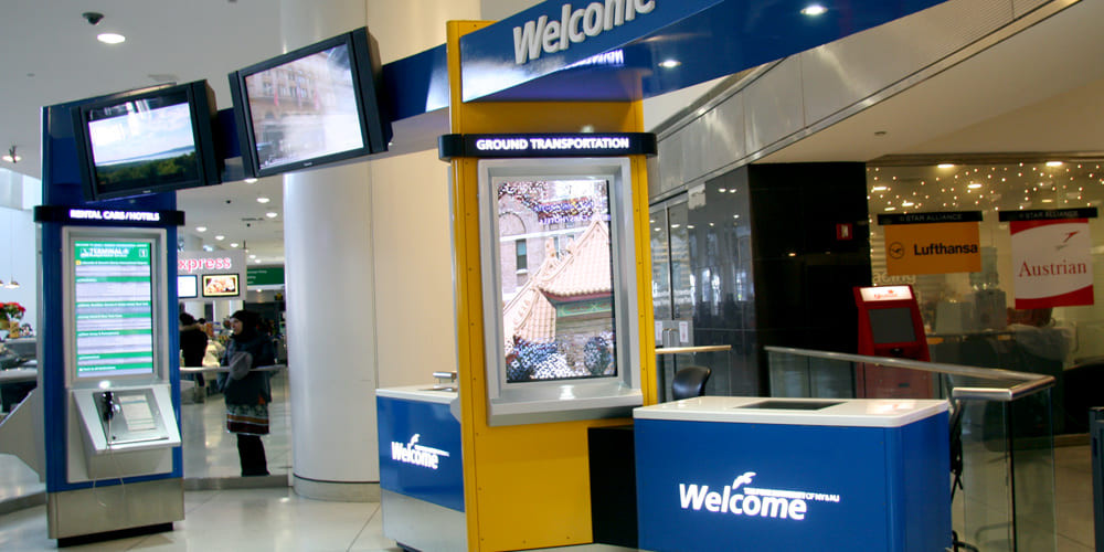 Welcome Centers JFK T1