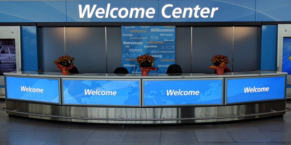 Welcome Centers JFK T4I