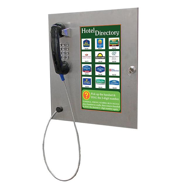Telephone Access Control Flush Mount