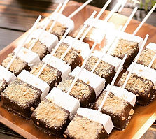 My homemade marshmallows dipped in choco