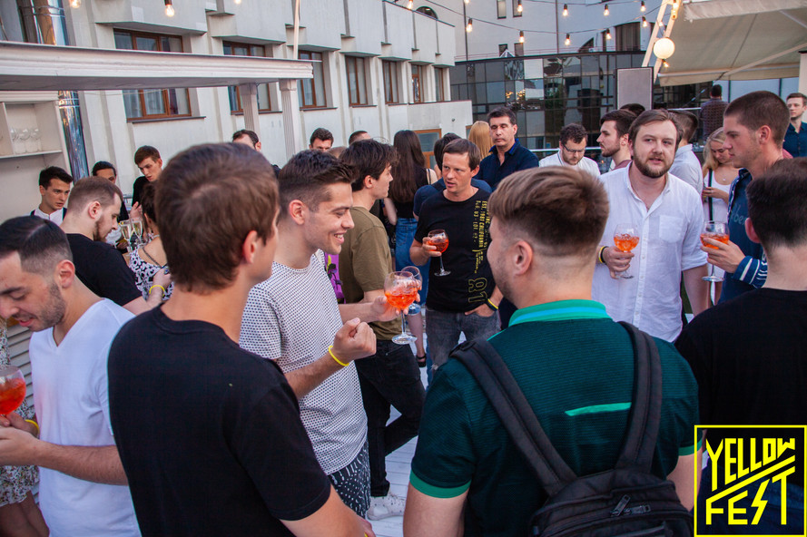 Yellow Fest Networking Drinks