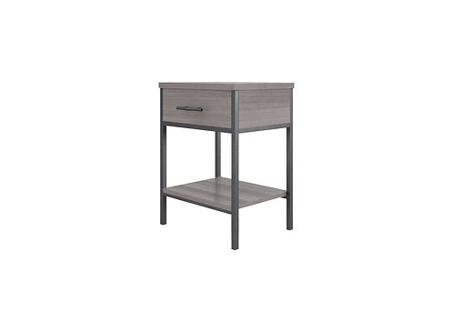 Clarke Bedside Table with Drawer
