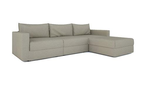 Canton Sofa with Ottoman