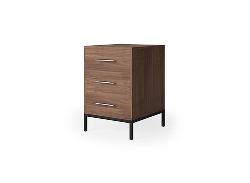 Tribeca 3-Drawer Bedside Table