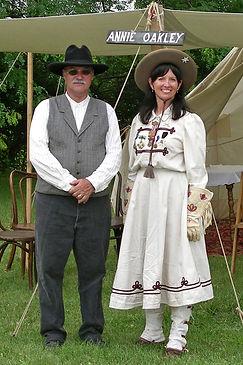 Annie Oakley & Frank Butler.JPG