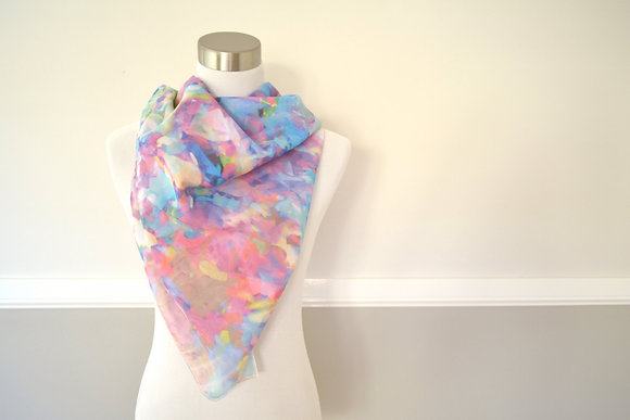The Abstract Confetti Scarf