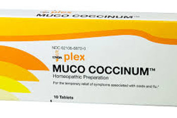 Muco Coccinum 10 tabs by Unda
