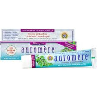 Mint Free Toothpaste - Auromere