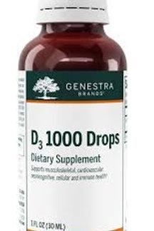 D3 1000 Drops - Genestra
