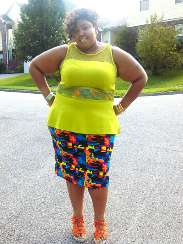 Curvy Fab Spotlight - Antronnette Coruthers