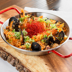 Kimchi Paella