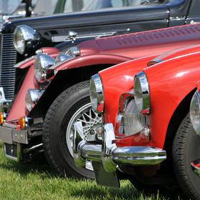 A line up of classic old cars.jpg