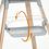 Thumbnail: Clikk® Etetőszék fehér színben