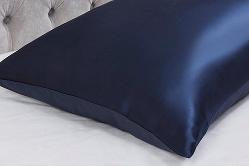 Silk Pillowcase - Navy