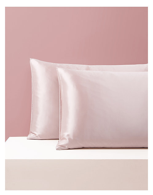 Silk Pillowcase - Pink
