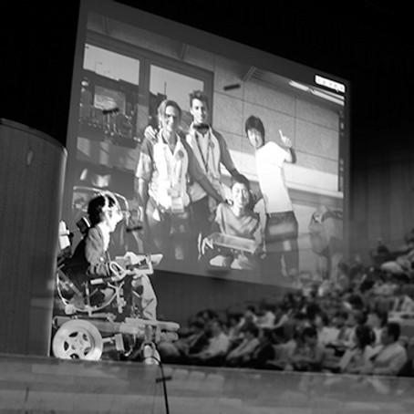 特別講義「電動車椅子サッカーと共に生きる」