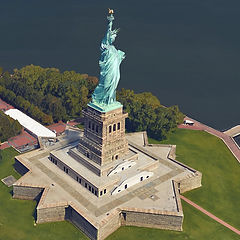 Point cloud of Statue of Liberty