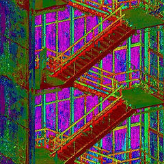 Point cloud of stairs scanned for rail manufacture design