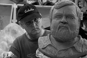 Geoffry Sprague's online portfolio of clay and paper mache sculpture. Geoff Sprague, figurative, art, contemporary, sculpture, paper mache
