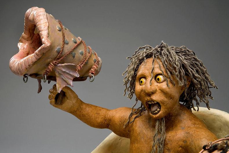 Geoffry Sprague's sculpture portfolio of clay and paper mache sculpture., Geoffry Sprague, art, portfolio, contemporary sculpture, paper mache. Geoff Sprague, figurative, art, contemporary, sculpture, paper mache