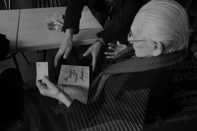 Maestro Andrzej Wajda and Martin Scorsese