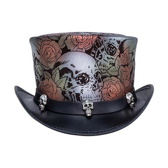 Skull N' Roses Hat