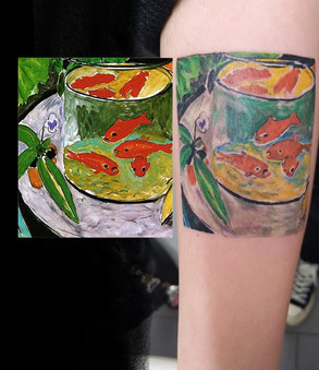 Monet's Goldfish