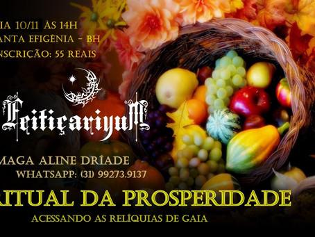 Ritual da Prosperidade: Acessando as Relíquias de Gaia!