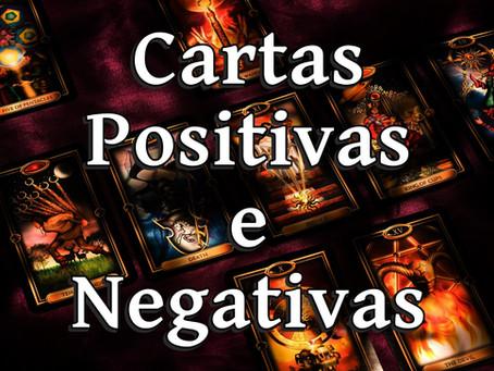 TAROT - Cartas Positivas e Negativas