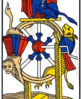 A Roda da Fortuna (Arcano 10)
