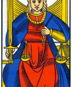 A Justiça (Arcano 8)