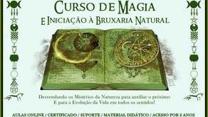 CURSO DE MAGIA E INICIAÇÃO À BRUXARIA NATURAL