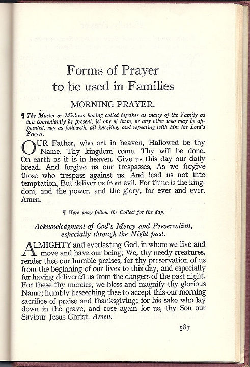 Page 587 Prayers for Families
