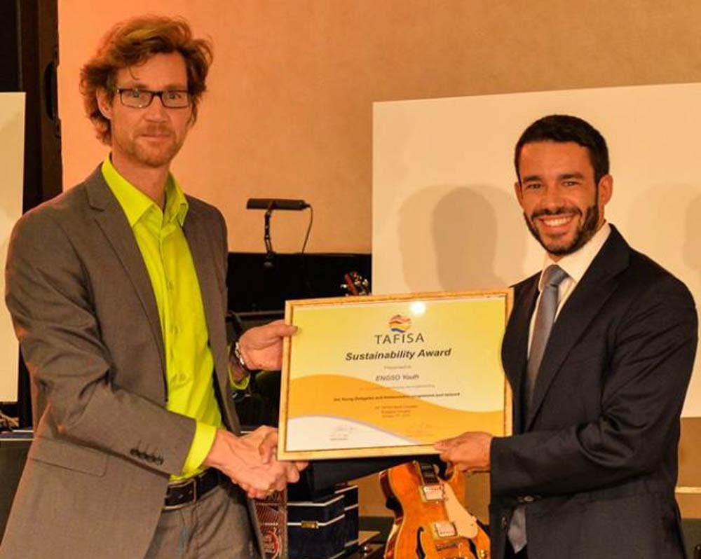 ENGSO Youth receives Sustainability Award