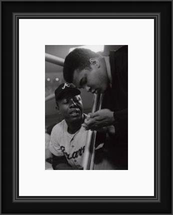 Hank Aaron and Ali