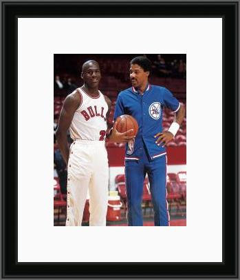 Dr. J and MJ