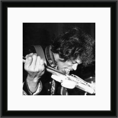 Jimi playing guitar