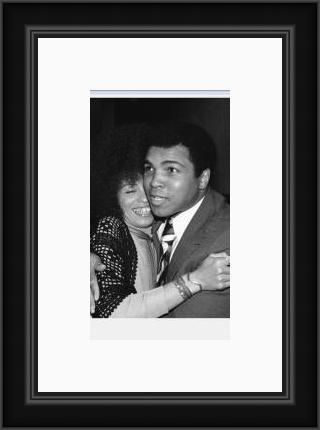 Angela Davis and Ali