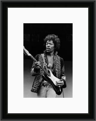 Jimi Hendrix Jamming