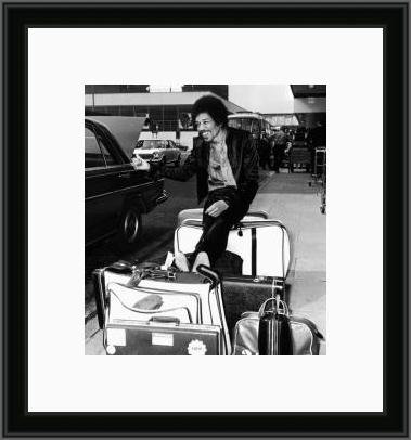 Jimi at the airport