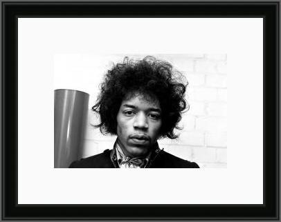 Jimi Hendrix | Man Cave Wall Art | Fine Framed Moments | Famous ...