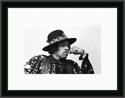 Jimi Hendrix in thought