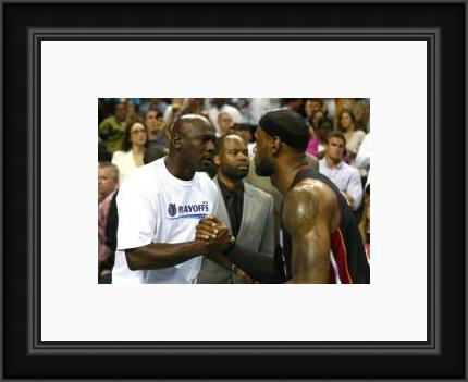 MJ and LeBron