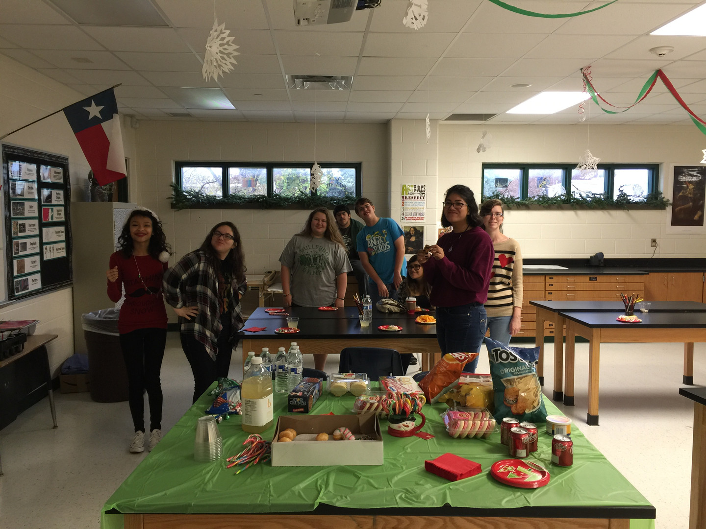 Art Club Holiday party